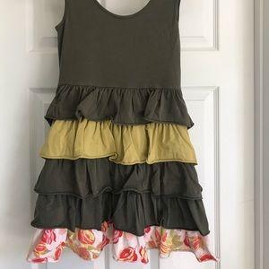 Matilda Jane Ruffle Tank Dress